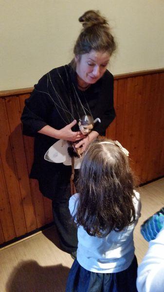 Marionettentheater Silberfaden/ Ein Schmetterling zum Anfassen November 2015