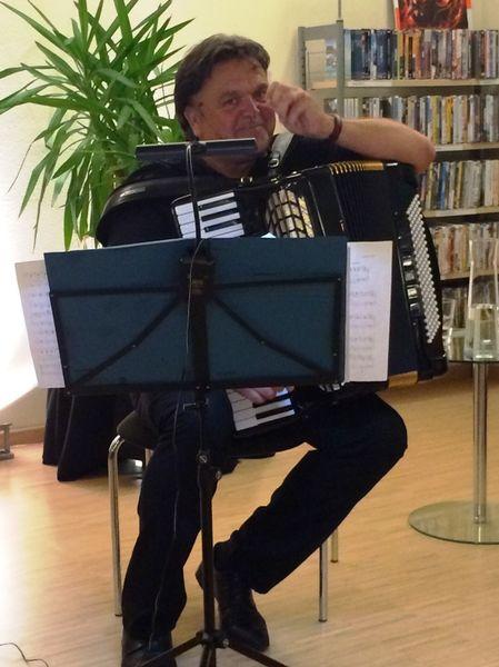 Akkordeonist Gerriet Heuten