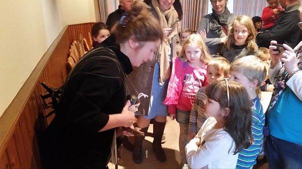 Marionettentheater Silberfaden/ Abschied vom Schmetterling November 2015