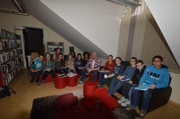 Klassenveranstaltung Römer & Germanen mit der 6. Klasse der Schlossbergschule Februar 2016