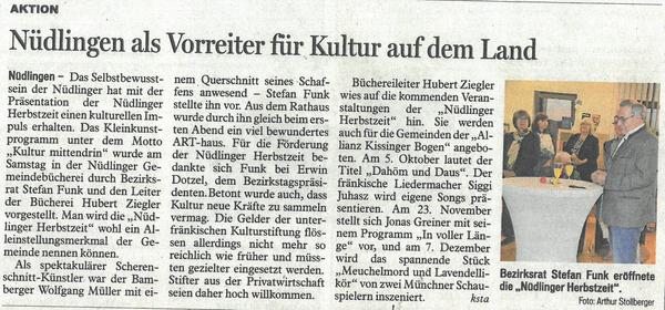 Eröffnung Presse Schnitt